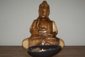 Der Buddha braucht Schutz im Rücken (c) Work & Life Feng Shui