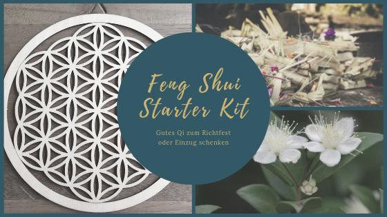 Feng Shui Geschenk-Tipp zum Richtfest und Einzug: Starter-Kit für neue Häuser