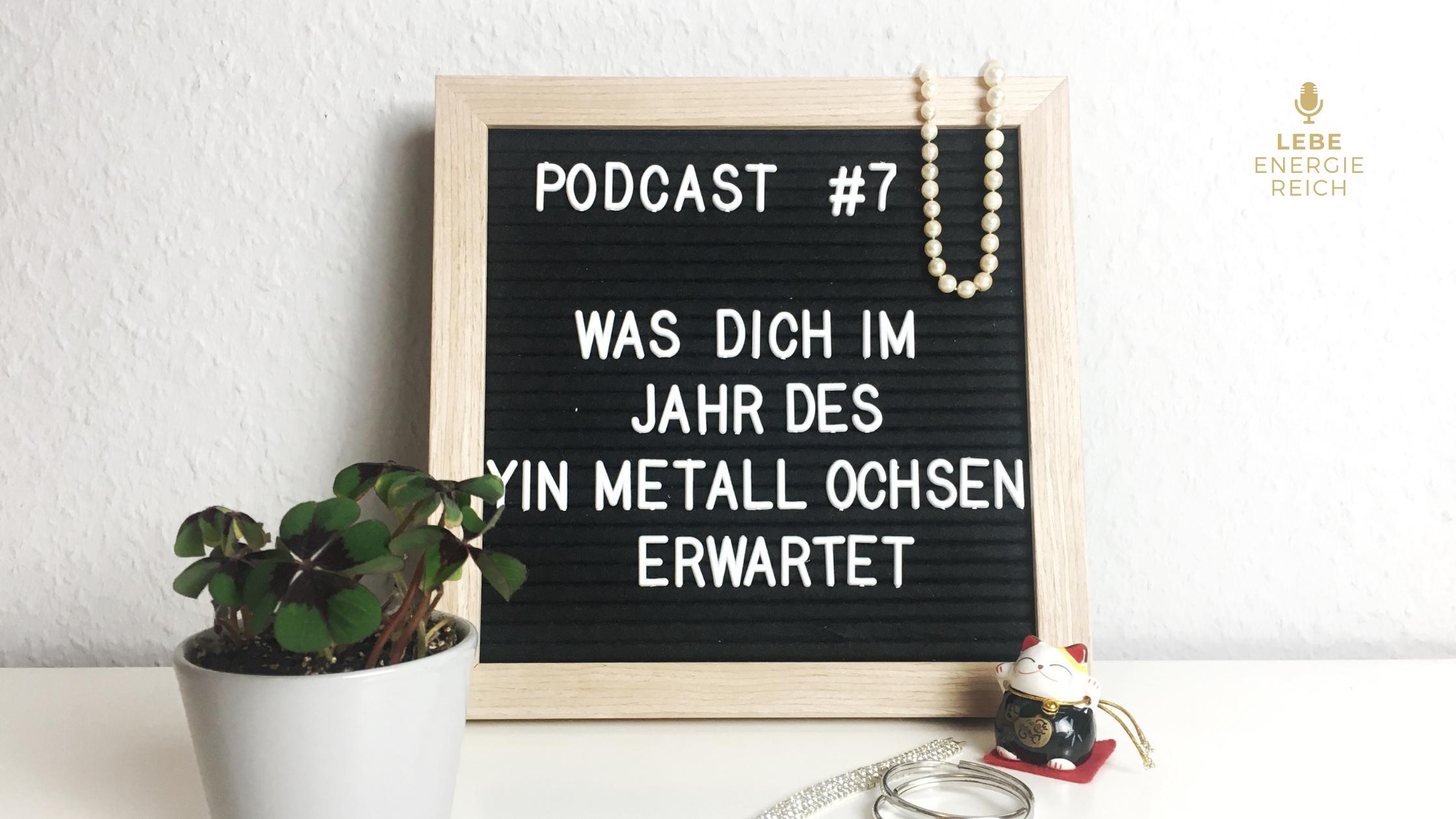 Podcast 7 Jahr des Ochsen